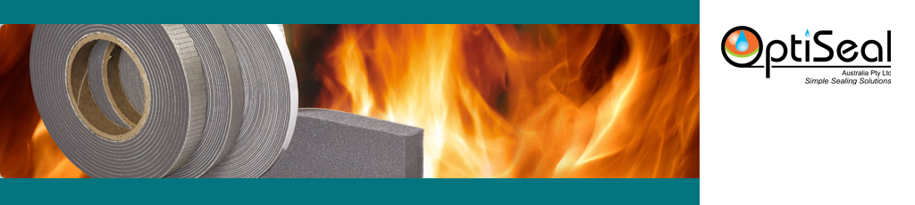 Fire resistant butyl tape for fire proofing